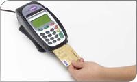 Luottokortin sirun lukija