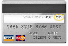 Luottokortin tarkistusnumero