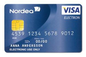 Visa Electron luottokortti