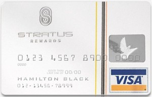 Visa Stratus Rewards luottokortti