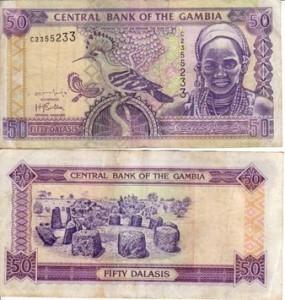 Gambian valuutta
