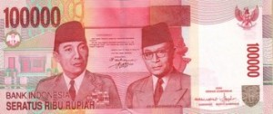 Indonesian valuutta
