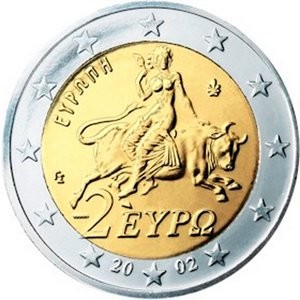 Kreikka valuutta