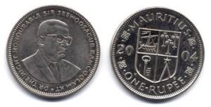 Mauritius valuutta kolikko