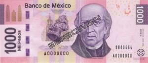 Meksikon valuutta