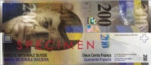 Sveitsin valuutta