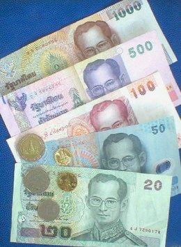 Thaimaan valuuttaa