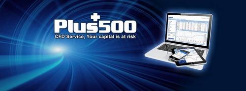 Plus500 CFD-välittäjä.