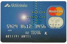 Aktiiviraha MasterCard