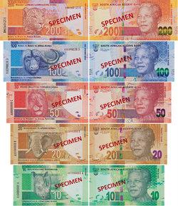 Etelä-Afrikan valuutta
