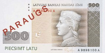 Latvian valuutta