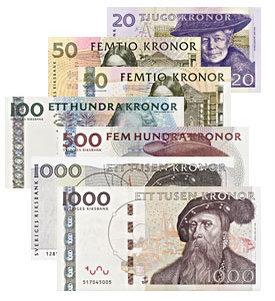 Ruotsin valuutta