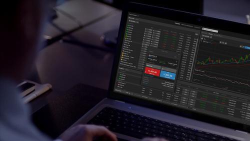 Saxo Bank kaupankäyntiohjelmisto.