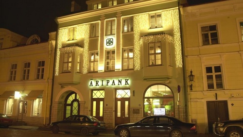 Tallinna Äripank pankki Viro.